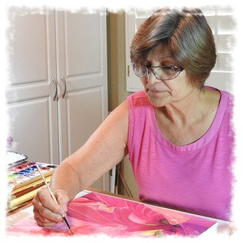 watercolor artist Donna Anastasi